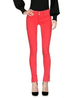 Повседневные брюки FIFTY FOUR. Цвет: коралловый