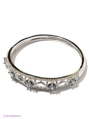 Браслет Lovely Jewelry. Цвет: серебристый, темно-синий
