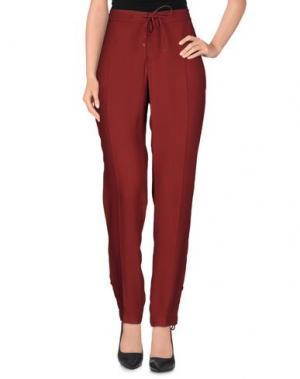 Повседневные брюки XANDRES. Цвет: пурпурный