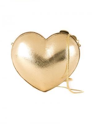 Heart clutch Serpui. Цвет: металлический