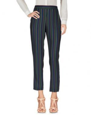 Повседневные брюки BERNA. Цвет: темно-зеленый