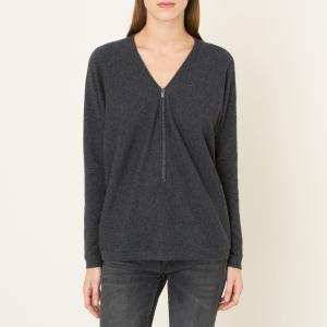 Пуловер из кашемира THE KOOPLES SPORT. Цвет: серый