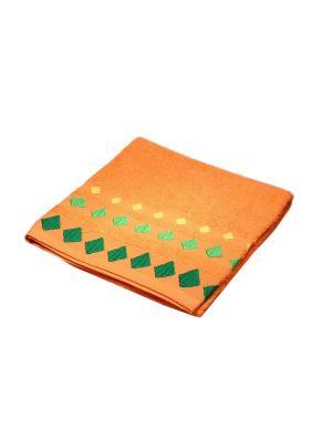 Полотенце Migura. Цвет: оранжевый,зеленый