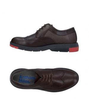 Обувь на шнурках ANTHONY MILES. Цвет: темно-коричневый