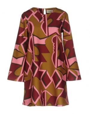 Короткое платье VICOLO. Цвет: зеленый-милитари