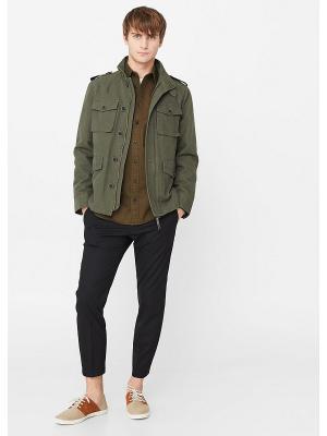 Куртка - JADE MANGO MAN. Цвет: хаки