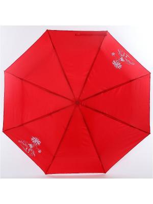 Зонт ArtRain. Цвет: белый, малиновый