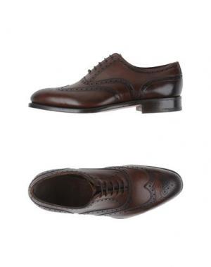 Обувь на шнурках EDWARD GREEN. Цвет: темно-коричневый