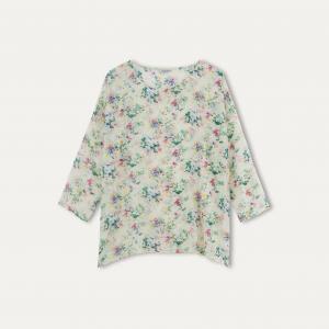Блузка ASHANTI MES DEMOISELLES. Цвет: цветочный рисунок