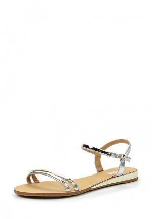 Сандалии Max Shoes. Цвет: золотой
