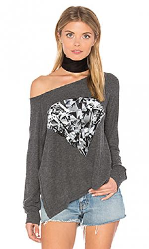 Пуловер amor diamond Lauren Moshi. Цвет: черный