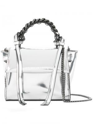 Micro Angel bag Elena Ghisellini. Цвет: серый
