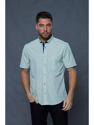 Рубашка John Jeniford. Цвет: светло-зеленый
