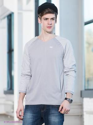 Пуловер Formalab. Цвет: светло-серый