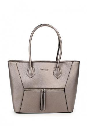 Сумка Flora & Co &. Цвет: серый