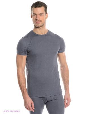 Термобелье-футболка Guahoo. Цвет: синий