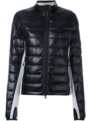 Куртка-пуховик Hybridge Canada Goose. Цвет: чёрный