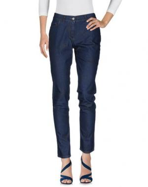 Джинсовые брюки ROBERTA SCARPA. Цвет: синий