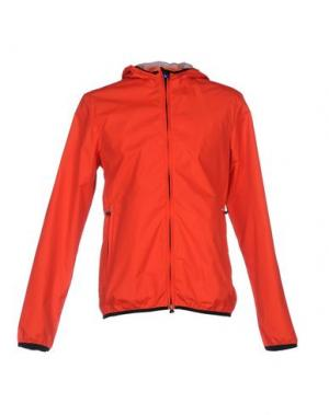 Куртка RRD. Цвет: коралловый