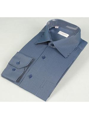 Рубашка LIVANSO. Цвет: темно-синий