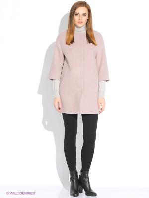 Пальто Finn Flare. Цвет: бледно-розовый