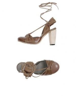 Туфли ALBERTO FERMANI. Цвет: светло-коричневый
