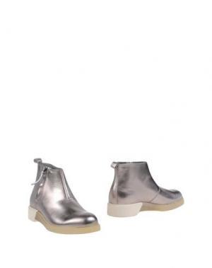 Полусапоги и высокие ботинки ANTHONY MILES. Цвет: платиновый