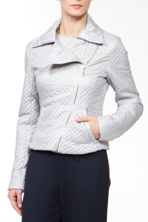 Куртка French Fries. Цвет: серебряный
