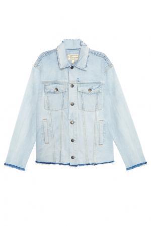 Джинсовая куртка Current/Elliott. Цвет: голубой