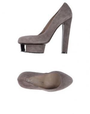 Туфли ENIO SILLA for LE. Цвет: хаки