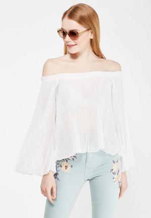 Блуза Jennyfer. Цвет: белый