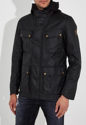 Куртка Belstaff. Цвет: черный