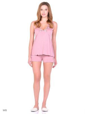 Пижама MARIPOSA. Цвет: розовый