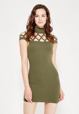 Платье Edge Street. Цвет: зеленый