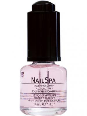 Ухаживающая сыворотка для ногтей с экстрактом манго Mango nail serum alessandro. Цвет: прозрачный, розовый