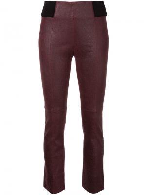 Укороченные брюки Pride Kitx. Цвет: красный