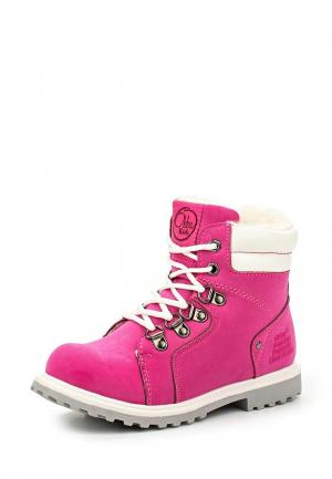 Ботинки Obba. Цвет: розовый
