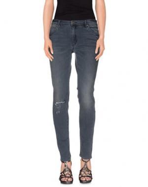 Джинсовые брюки NEUW. Цвет: грифельно-синий