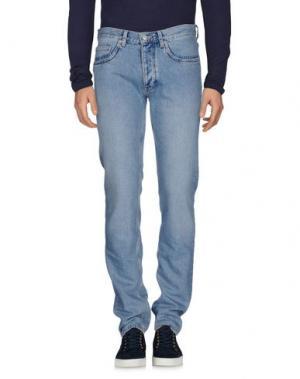 Джинсовые брюки SANDRO. Цвет: синий