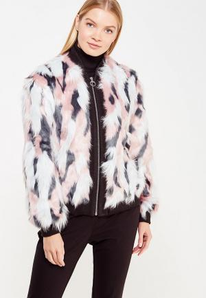 Шуба Juicy by Couture. Цвет: розовый