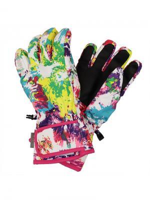 Перчатки для детей RIXTON HUPPA. Цвет: белый