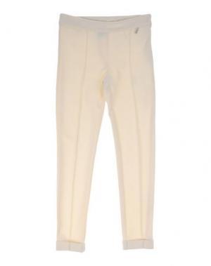 Повседневные брюки PARROT. Цвет: слоновая кость