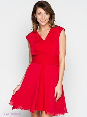 Платье Verezo. Цвет: красный