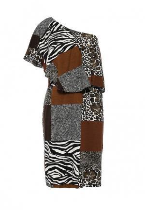 Платье Apart. Цвет: разноцветный