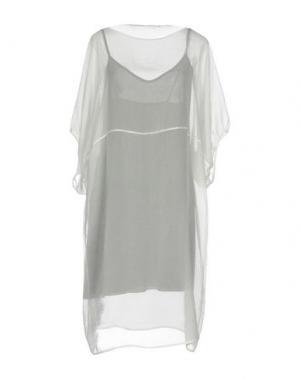 Короткое платье LAVINIATURRA. Цвет: белый