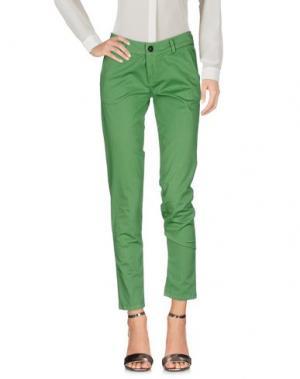 Повседневные брюки ANOTHER LABEL. Цвет: зеленый