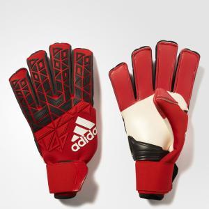 Вратарские перчатки ACE FS PROMO  Performance adidas. Цвет: красный