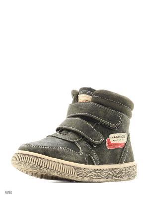 Ботинки ЛЬВЕНОК. Цвет: зеленый