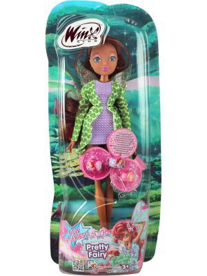 Кукла Winx Club Красотка, Layla. Цвет: темно-коричневый, светло-зеленый, фиолетовый