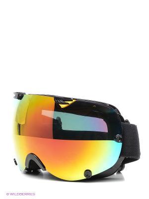 Маска сноубордическая Sky Monkey SR21 DRV со сменными линзами. Цвет: желтый, черный, синий